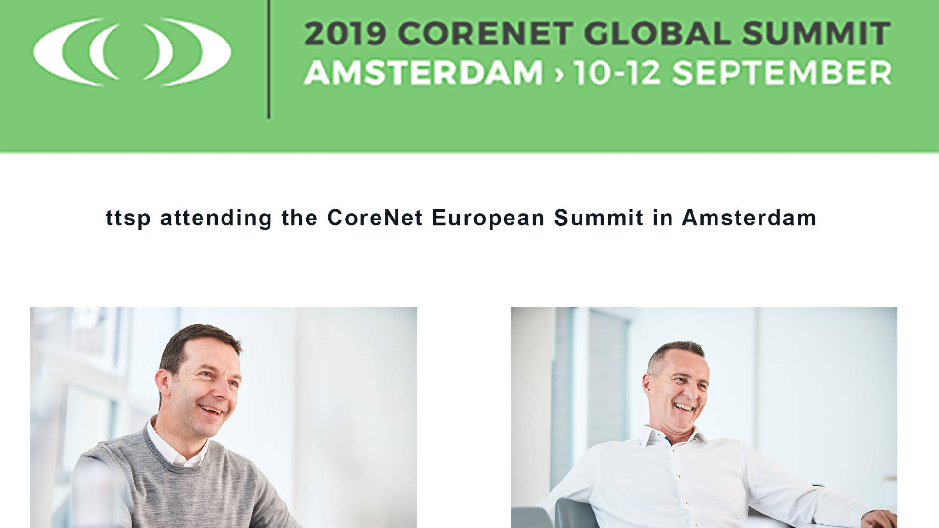 Image for CoreNet Global Summit