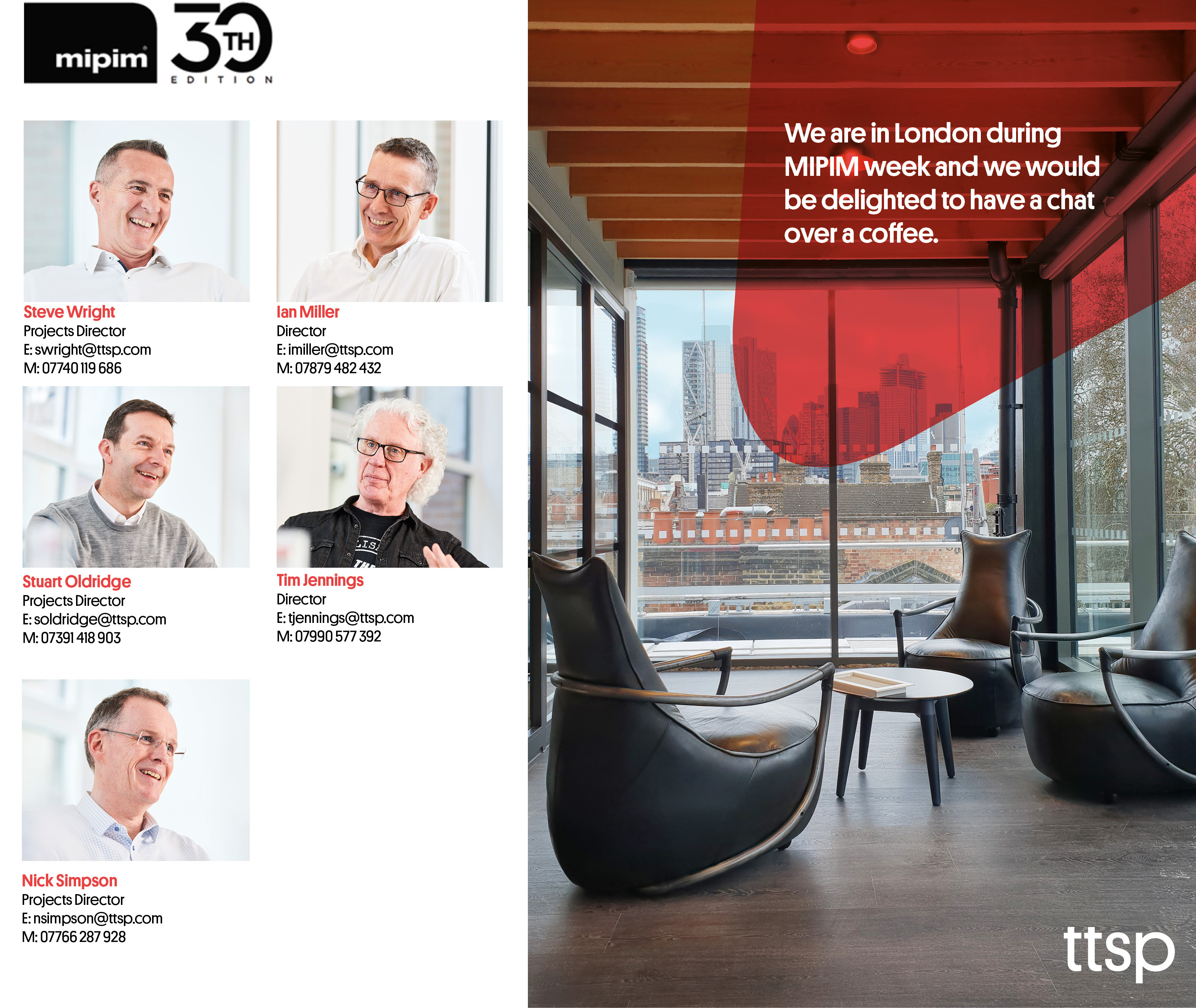 Image for TTSP in London during MIPIM week